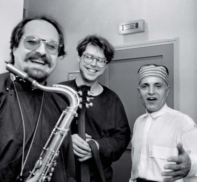 © CONTRASTO/MAGNUM PHOTOS Da sinistra Joe Lovano, Bill Frisell e Paul Motian