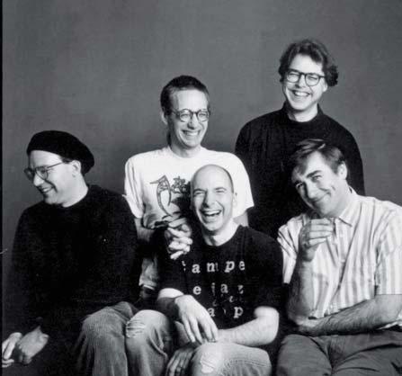NAKED CITY Wayne Horvitz, John Zorn, Bill Frisell, Fred Frith e Joey Baron © TIMOTHY GREENFIELD SANDERS