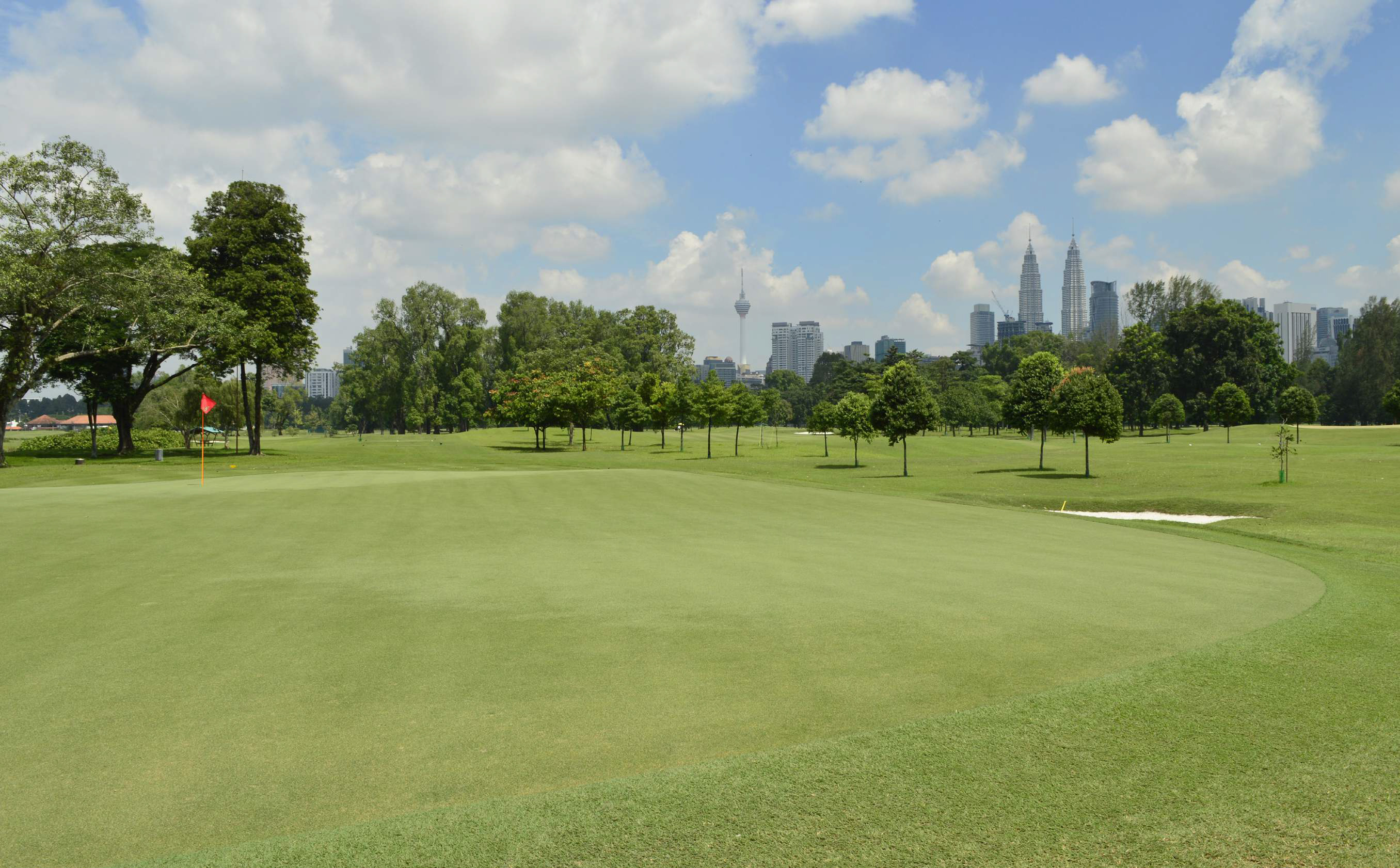 Asia, 5 campi da golf urbani