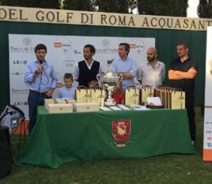Roma Golf Tour, tappa all'Acquasanta